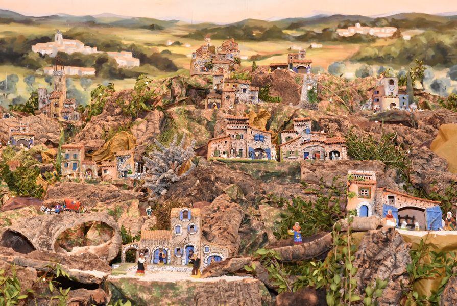 La crèche provençale à Hyères - 1