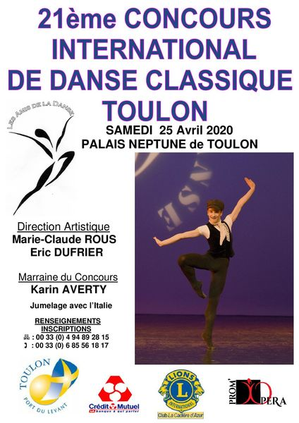 21e Concours international de danse classique à Toulon - 0