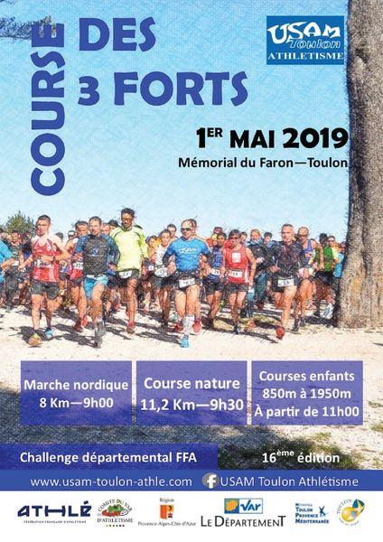 17e Course nature des 3 forts de Toulon à Toulon - 0