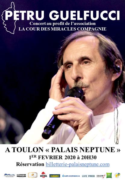 Concert – Chants polyphoniques corses Petru Guelfucci à Toulon - 0