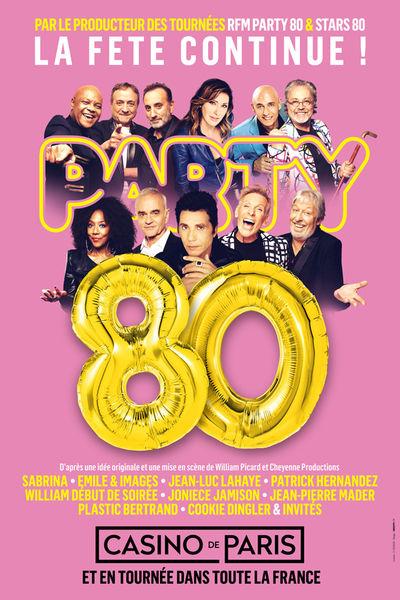 Spectacle – Party 80 / La fête continue ! à Toulon - 0