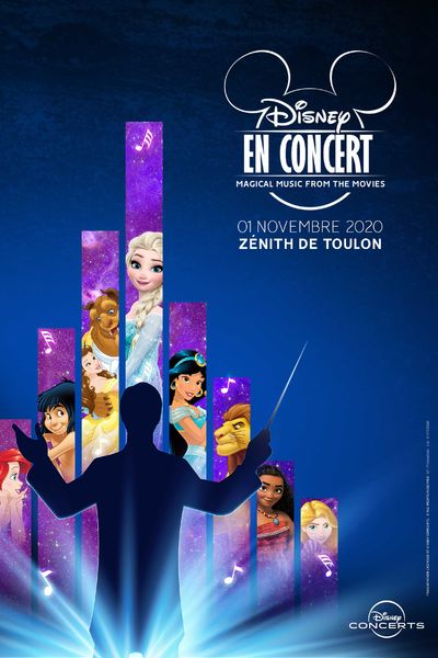 Jeune Public – Disney en concert  / Magical Music from the movies à Toulon - 0