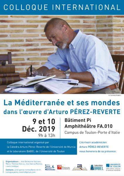 Colloque – La Méditerranée et ses mondes dans l'œuvre d'Arturo Pérez-Reverte à Toulon - 0