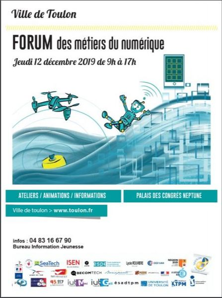 Forum des métiers du numérique à Toulon - 0