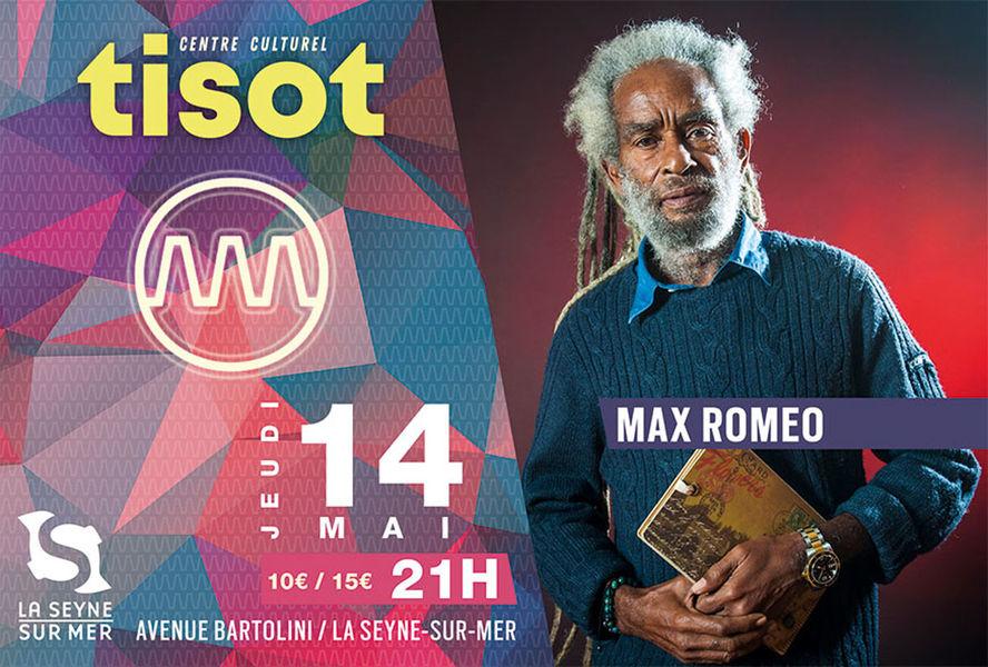 Concert of Max Romeo à La Seyne-sur-Mer - 0