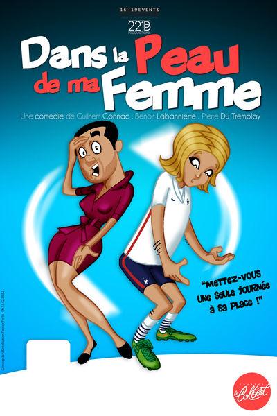 Spectacle St Valentin – Dans la peau de ma femme à Toulon - 0