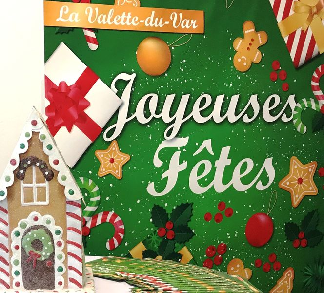 Noël – Le Père Noël dans le coeur de ville à La Valette-du-Var - 0
