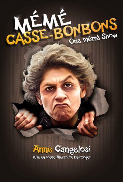Spectacle – Anne Cangelosi dans « Mémé » à Toulon - 0