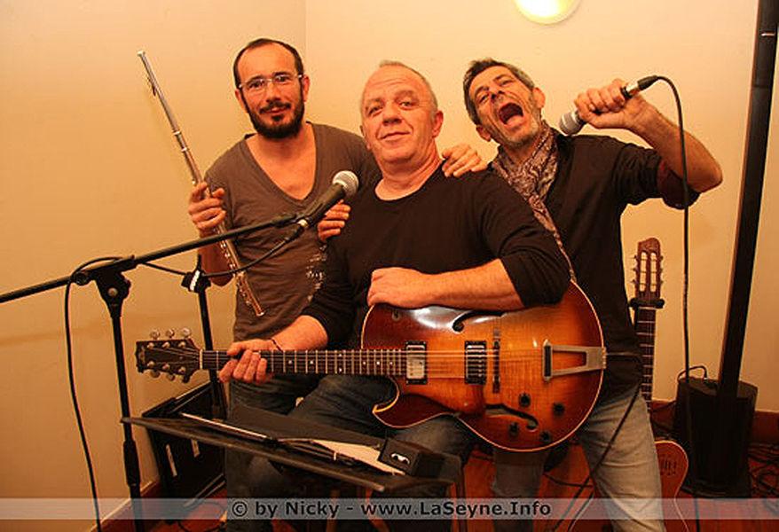 """Cancelled: French song with the trio """"Faut Pas Pousser Band"""" à La Seyne-sur-Mer - 0"""