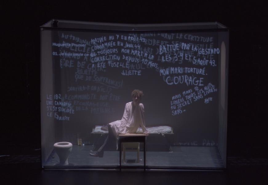 """Théâtre """"Murs de Fresnes"""", mise en scène Judith Depaule à Ollioules - 1"""