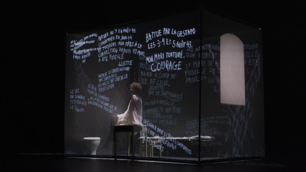 """Théâtre """"Murs de Fresnes"""", mise en scène Judith Depaule à Ollioules - 2"""