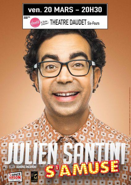 """Show : Julien Santini """"s'amuse"""" à Six-Fours-les-Plages - 0"""