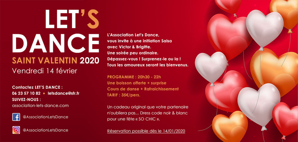 Initiation Salsa – St valentin 2020 à Toulon - 0