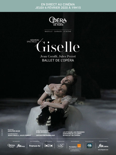 """L'Opéra de Paris en direct : ballet """"Giselle"""" à Six-Fours-les-Plages - 0"""