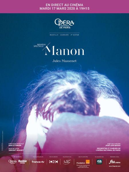 """L'Opéra de Paris en direct """"Manon"""" à Six-Fours-les-Plages - 0"""