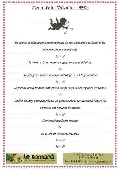 Saint Valentin au restaurants du Pradet à Le Pradet - 3
