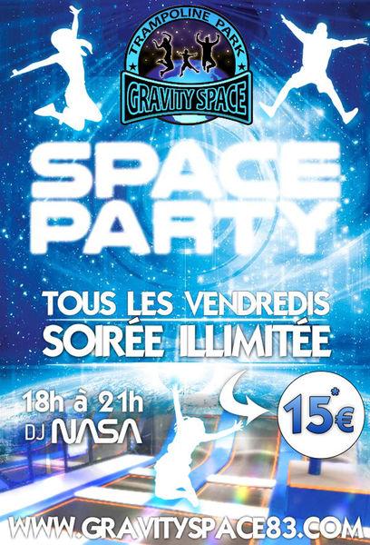 Soirée Gravity Space : Space Party à La Seyne-sur-Mer - 0