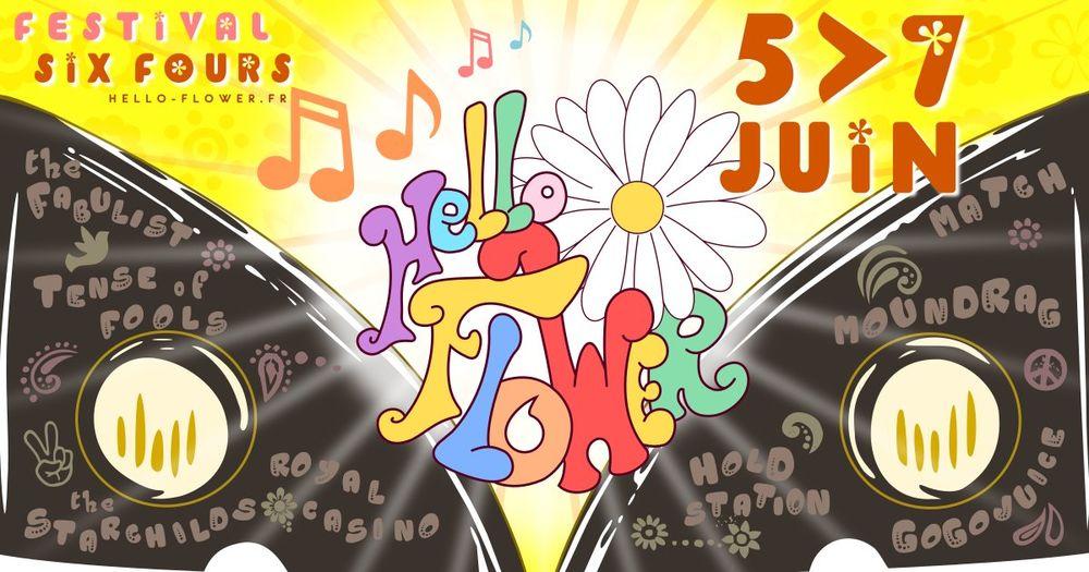 Annulé : Festival sixties – Hello Flower à Six-Fours-les-Plages - 0
