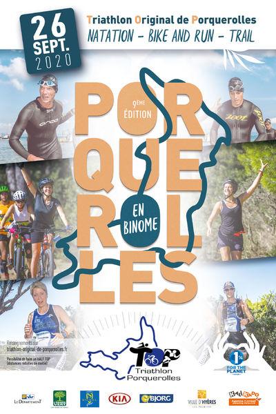 Original Porquerolles triathlon à Hyères - 0