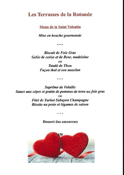 Saint Valentin au restaurants du Pradet à Le Pradet - 2