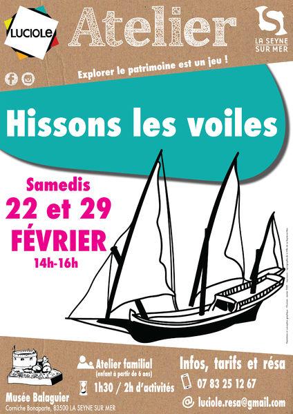 """Atelier familial """"Hissons les voiles"""" à La Seyne-sur-Mer - 0"""