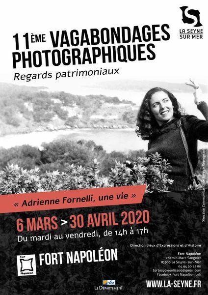 """11è Vagabondages photographiques """"Adrienne Fornelli, une vie"""" à La Seyne-sur-Mer - 0"""