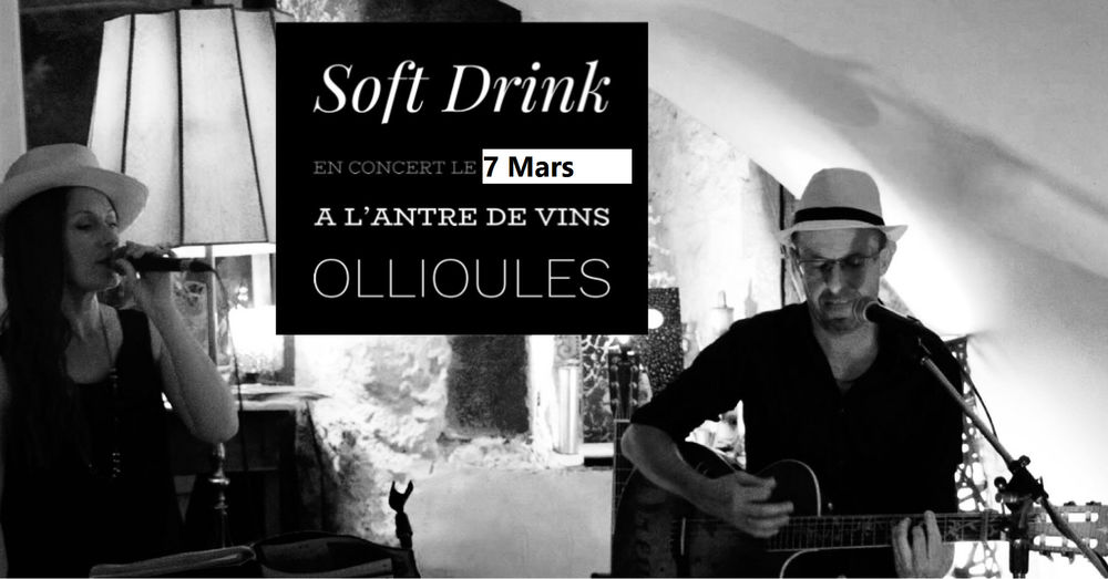 Dîner concert avec Soft Drink à Ollioules - 0