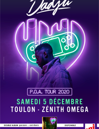Concert – Dadju « P.O.A Miel Tour » à Toulon - 0