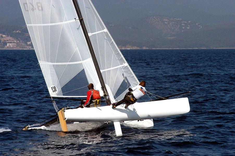 World catamaran NACRA championship à Hyères - 0