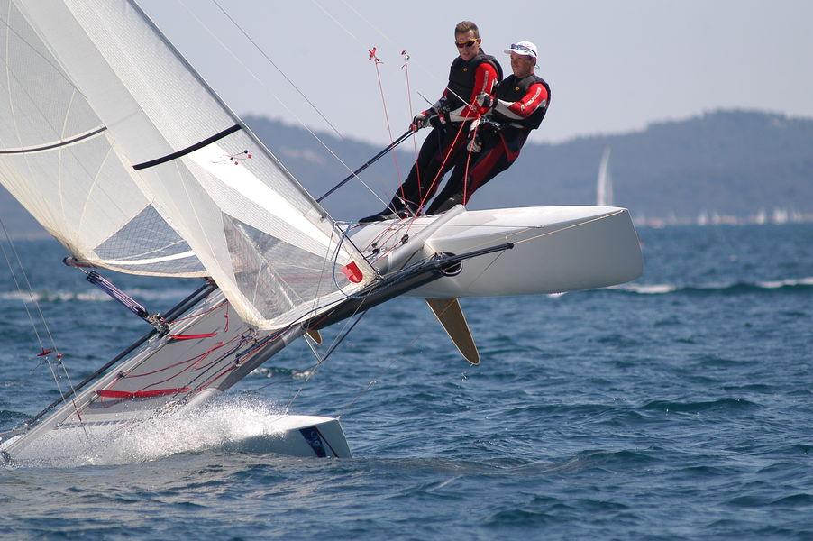 World catamaran NACRA championship à Hyères - 1