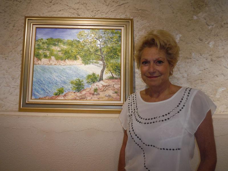 Exposition Peinture de Mme Danielle Ommeval à La Seyne-sur-Mer - 1