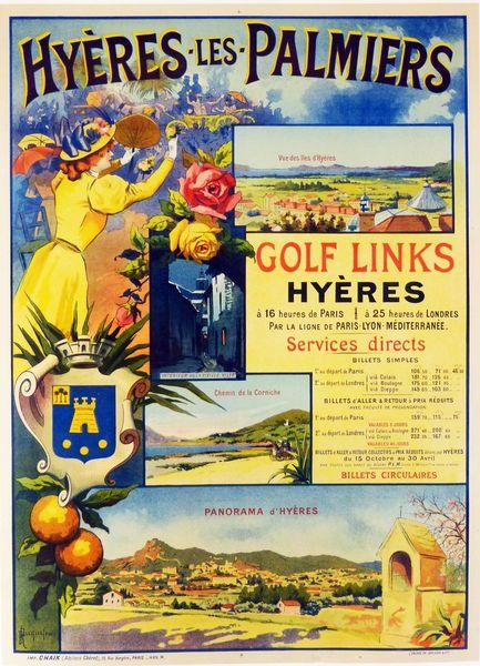 Exposition Affiches touristiques anciennes à Hyères - 1