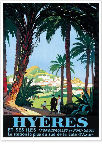 Exposition Affiches touristiques anciennes à Hyères - 0