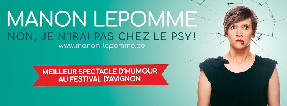 """One woman show """"Non, je n'irai pas aller au psy"""" by Manon Lepomme à Six-Fours-les-Plages - 0"""