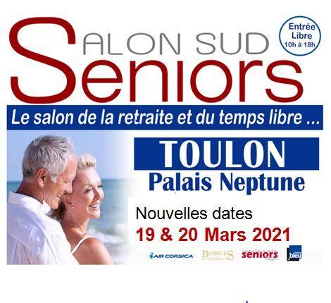 Reporté – Salon Sud Seniors à Toulon - 1
