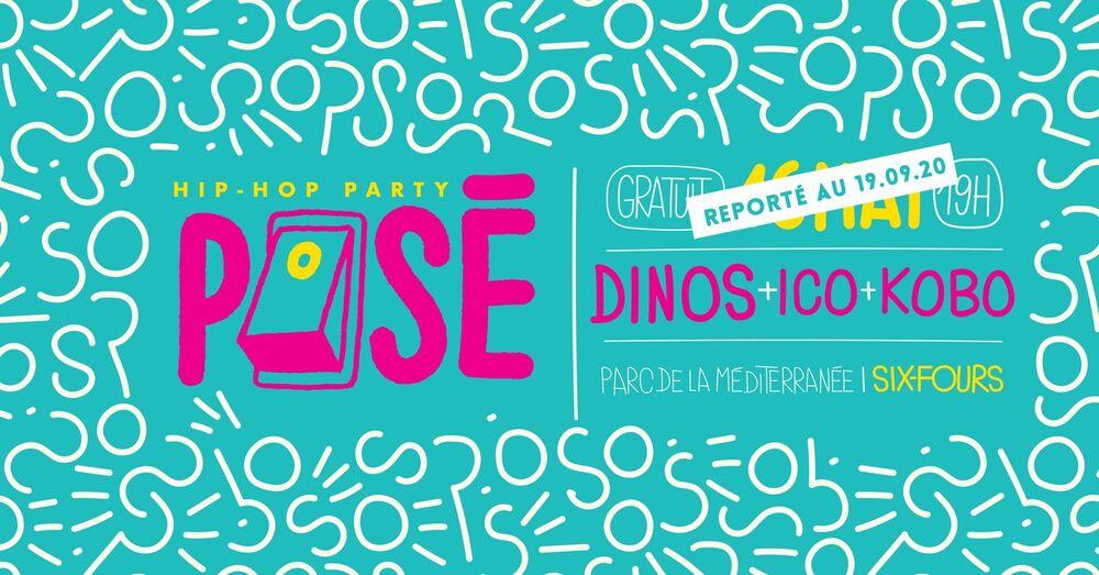 Posé 2020 : Dinos / ICO / Kobo à Six-Fours-les-Plages - 0