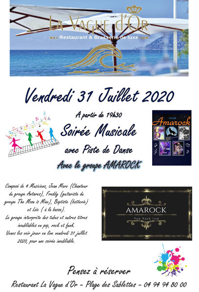 Musical evening with the group Amarock à La Seyne-sur-Mer - 0