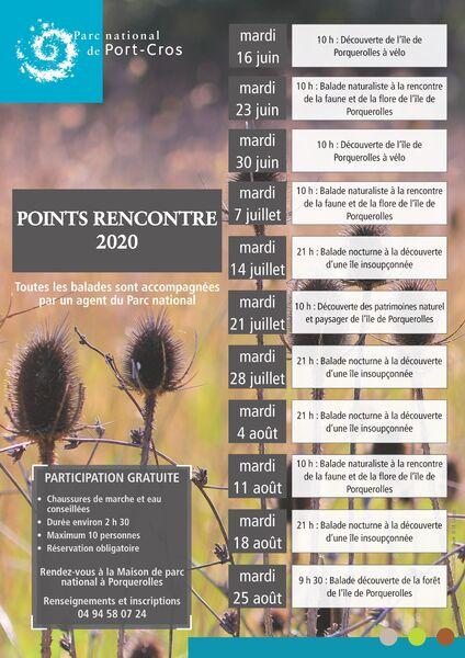 Point Rencontre Porquerolles 2020 à Hyères - 0