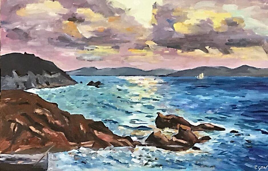 Exposition peintre François Egon à Hyères - 0