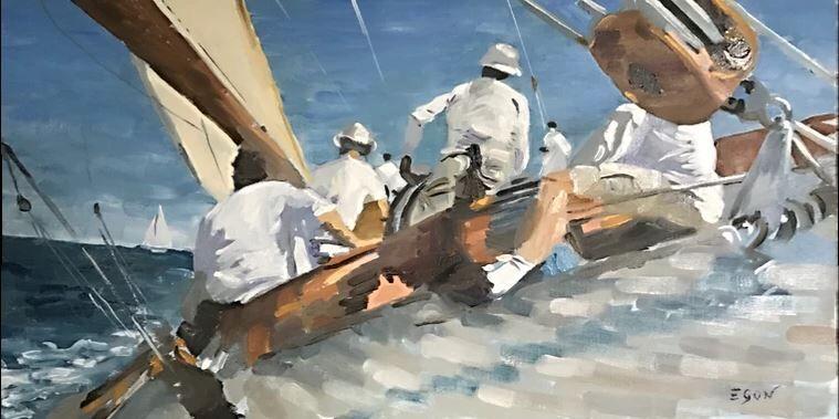 Exposition peintre François Egon à Hyères - 1