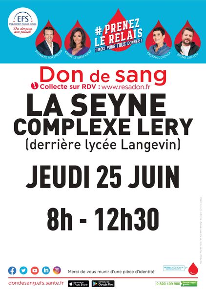 Blood donor clinic à La Seyne-sur-Mer - 0
