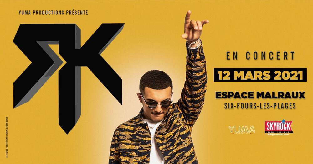 Concert de RK (rap) à Six-Fours-les-Plages - 0