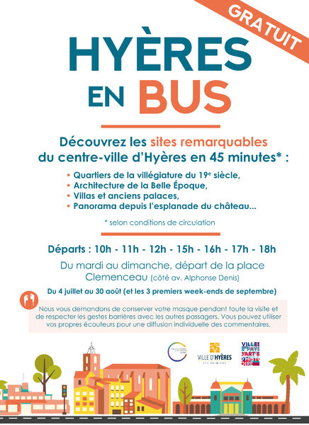 Bus tour in Hyeres à Hyères - 1