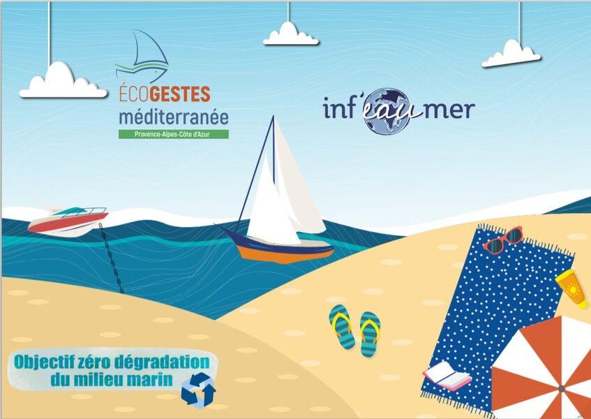 « Inf'eau mer » sur les plages de Toulon à Toulon - 0