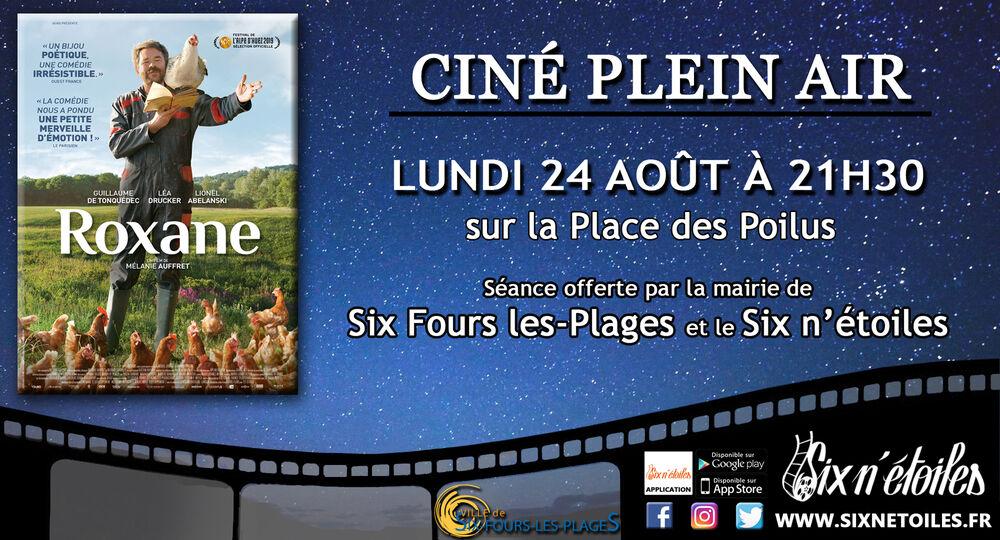 """Cinéma en plein air """"Roxane"""" à Six-Fours-les-Plages - 0"""