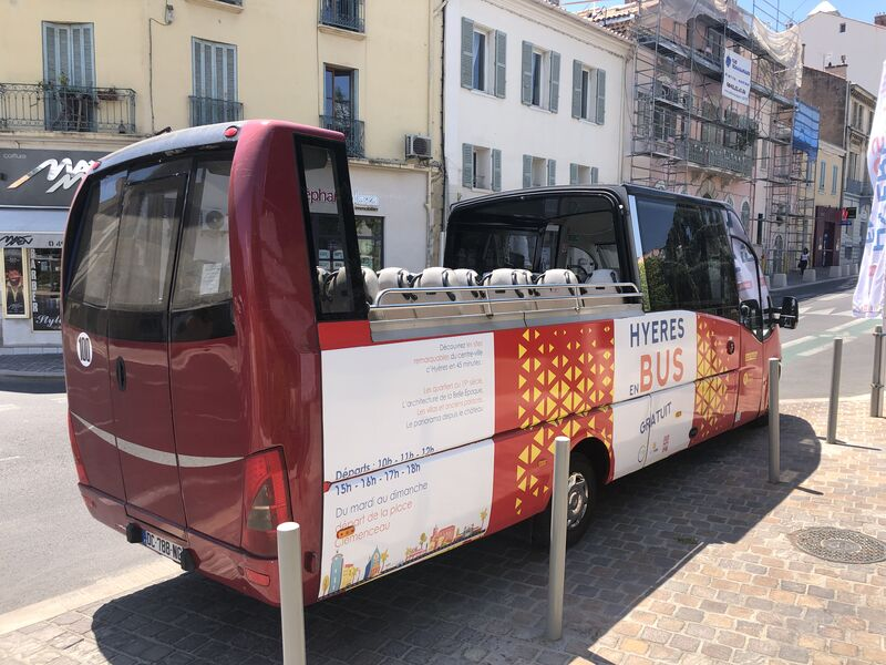 Bus tour in Hyeres à Hyères - 4