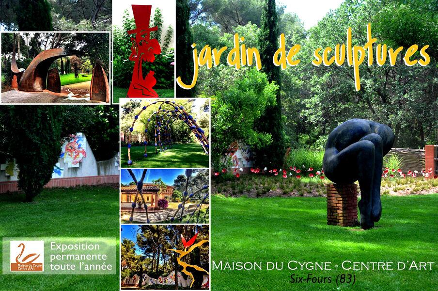 Exposition permanente : jardin de sculptures à Six-Fours-les-Plages - 0
