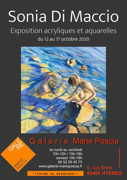 Painting exhibition – Sonia Di Maccio à Hyères - 0