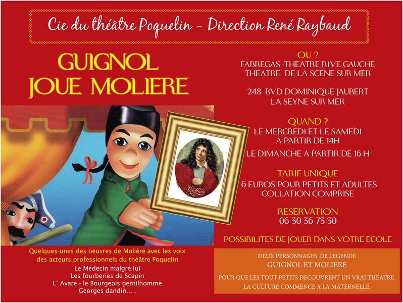 Guignol joue Molière à La Seyne-sur-Mer - 0