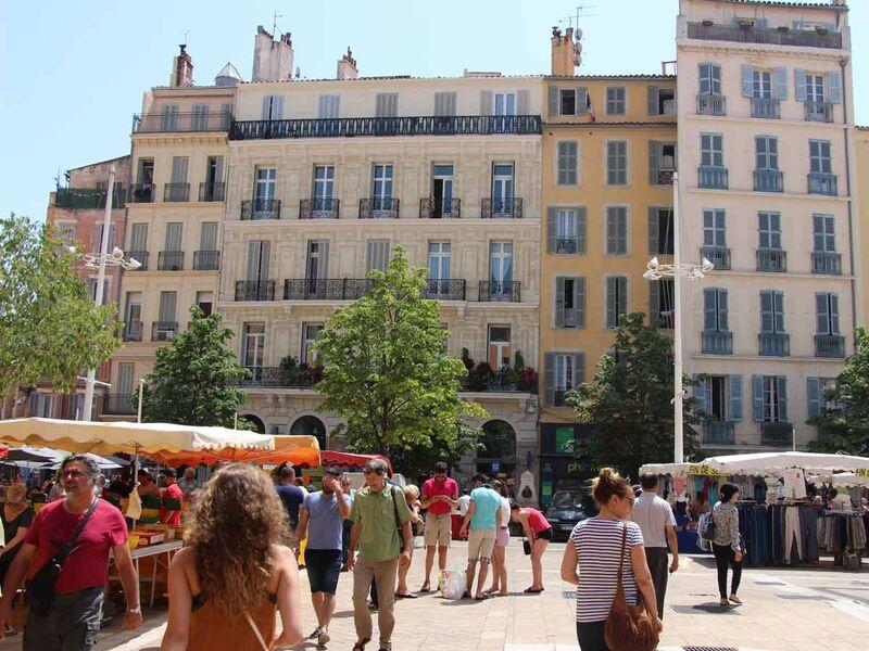 Le circuit des fontaines à Toulon - 1